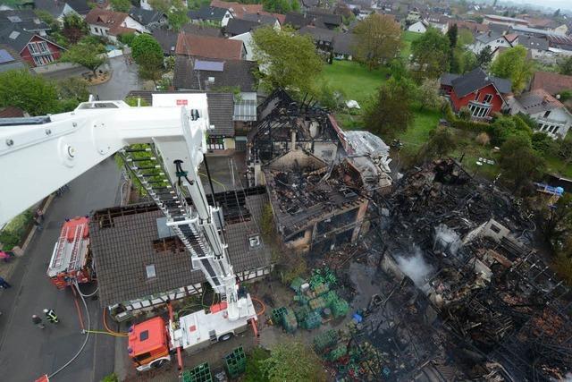 Feuer in Neuried-Altenheim hatte technische Ursache