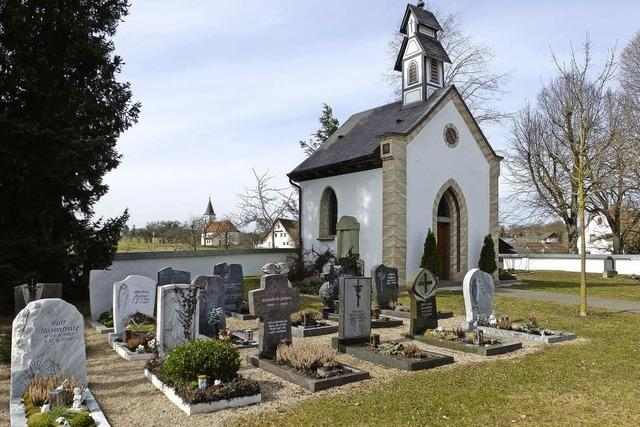 Die Friedhofskapelle wird 150 Jahre alt