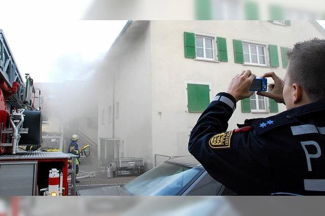 Herdplatte löst einen Großbrand aus