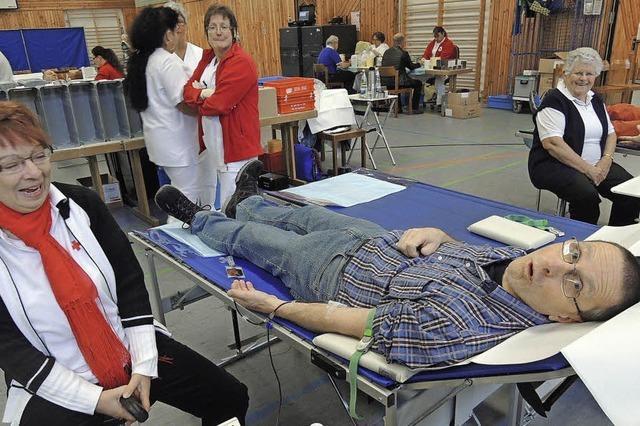 50. Blutspendetag beim DRK-Ortsverein Elzach
