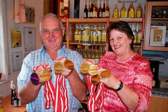 Fridolin Baumgartner gewinnt bei der Destillata die Nationenwertung