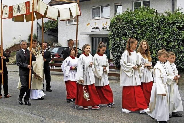 Hochamt und Prozession