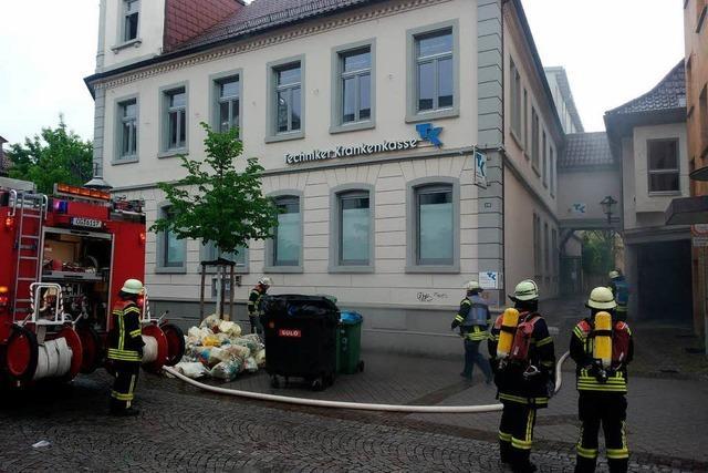 Kaffeeröstmaschine löst Brand aus