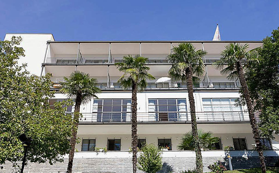 Lesungs- und Gesprächsort  beim neuen ...l: Bauhaushotel auf dem Monte Verità    | Foto: Fondazione Monte Verità