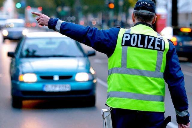 Zahlreiche Verstöße bei Verkehrskontrollen in Lahr