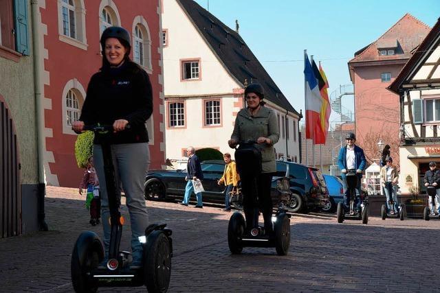 Mit dem Segway auf Sightseeingtour in Ettenheim
