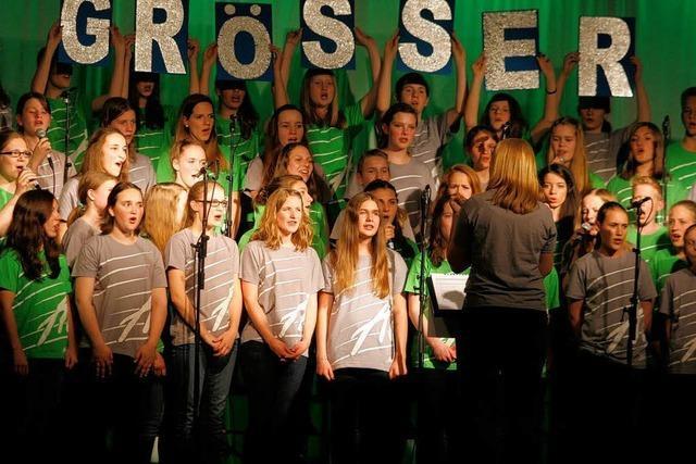Adonia-Musical in Lahr mit vielen Jugendlichen
