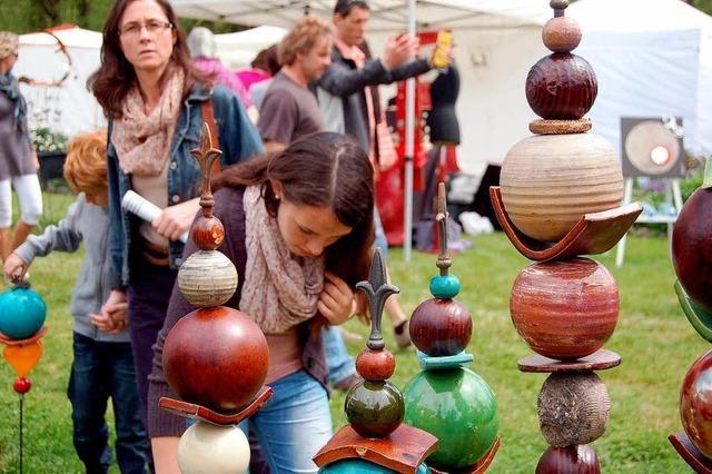Mehr Aussteller beim Töpfer- und Künstlermarkt Schloss Beuggen