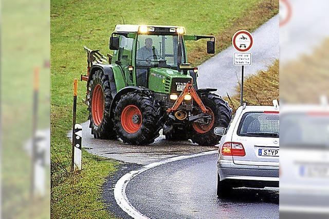 Traktoren unterwegs