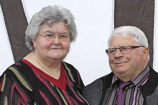 Seit 50 Jahren als Paar im Elsass und im Ried daheim