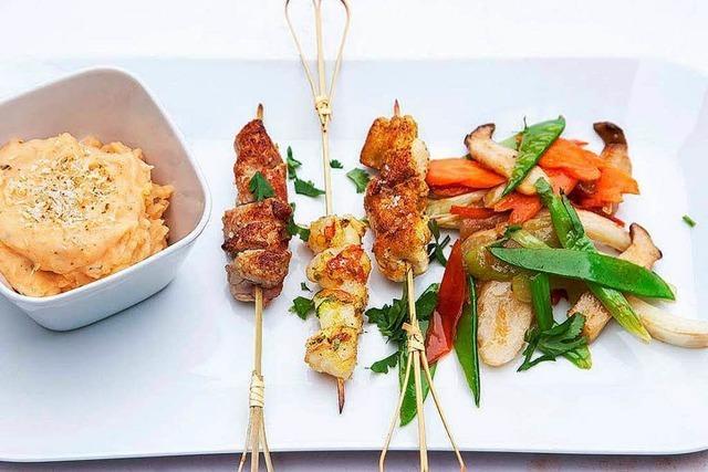 Kreative Kochschule Bensels: Baden trifft Asien
