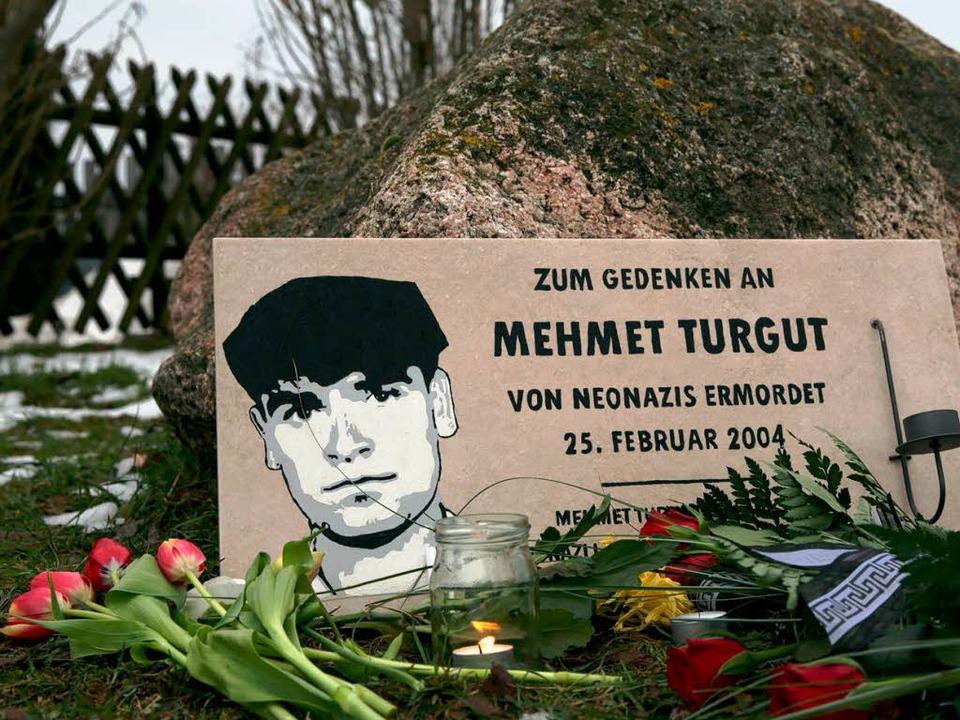 Mehmet Turgut wurde 2004 in Rostock vo...isch motivierte Verbrechen angefacht.   | Foto: dpa