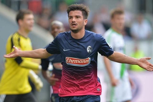 Freiburg trennt sich unentschieden von Wolfsburg mit 2:2