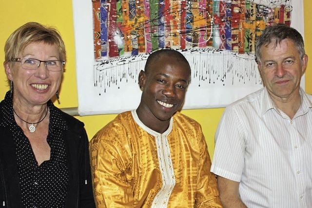 Fallou Fall aus dem Senegal: Gastfamilie macht Heimweh vergessen