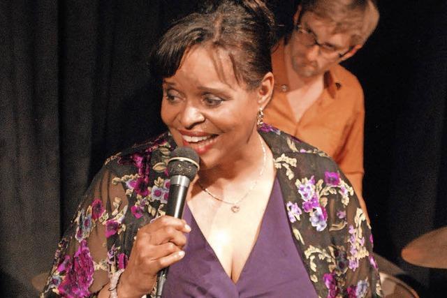 Deborah Carter im Jazztone in Lörrach