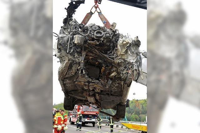 Tödlicher Autounfall auf der A 98 bei Murg