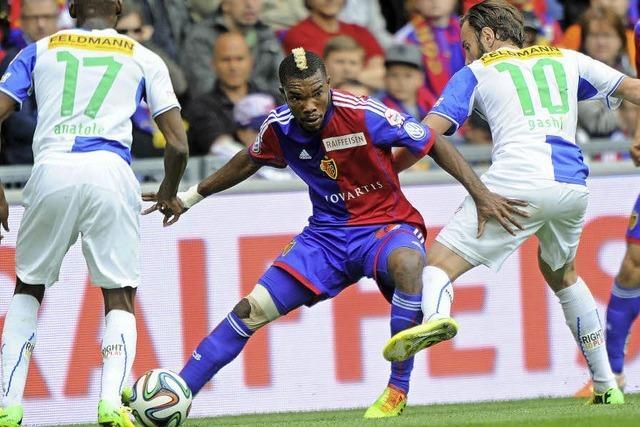FC Basel wahrt im Direktduell mit den Grasshoppers den Vierpunktevorsprung