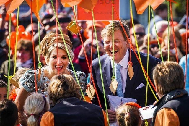 Königstag in Holland: Popo-Affäre