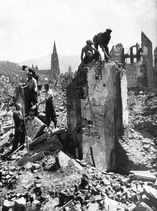 Keine Zeit für die Aufbereitung der Kriegstraumata: Freiburg 1944  | Foto: Stadtarchiv