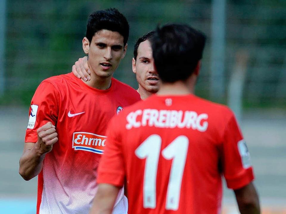 Die U23 des SC Freiburg steht derzeit auf Platz 3 in der Tabelle.  | Foto: Patrick Seeger