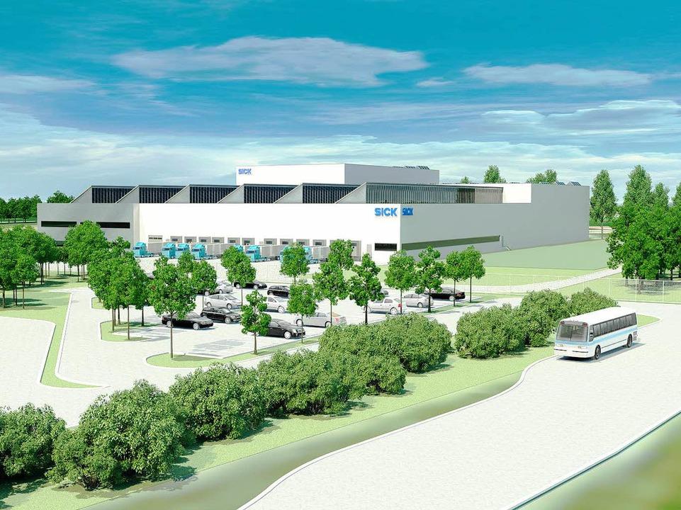 Der Neubau in der Modellzeichnung.    Foto: ZVG