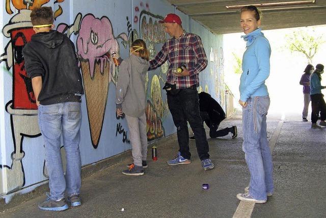 Graffiti als kreativer Akt