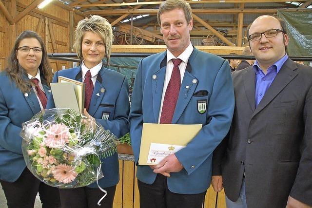 Anja Klemm ist neues Ehrenmitglied
