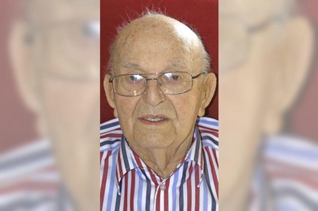Karl-Heinz Fischer feiert seinen 97. Geburtstag