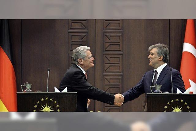 Gauck in der Türkei - der unbequeme Gast