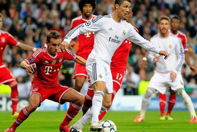 Bayern gegen Real: Ronaldo in Topform