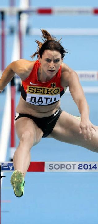 Anders als Fünfkämpferin Claudia Rath ...arlament keine Hürde mehr überwinden.   | Foto: dpa/DAPD