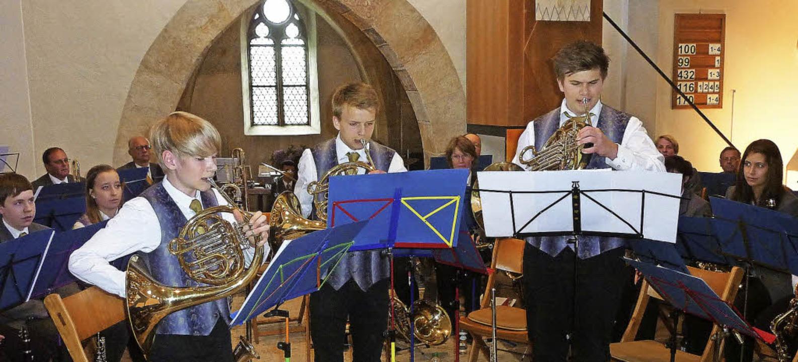 Klanglicher Beweis für die musikalisch... in der Teninger evangelischen Kirche.    Foto: Karlernst Lauffer