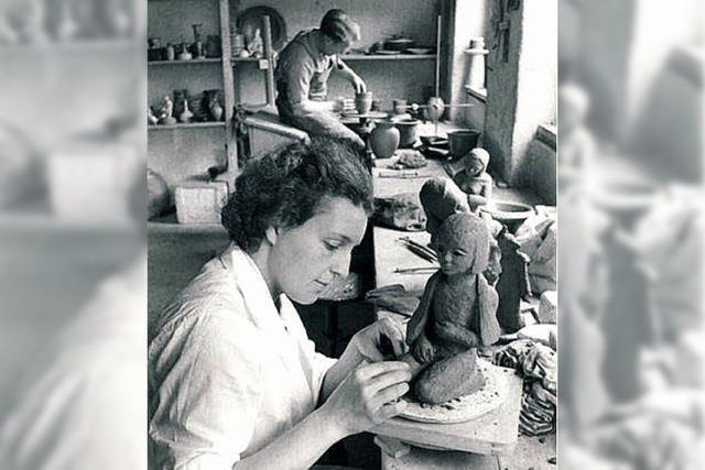 Erna Kinz-Vogel: Wer kennt die Keramikerin?