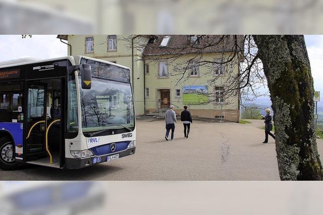 Wanderbus fährt wieder bis zum Hochblauen
