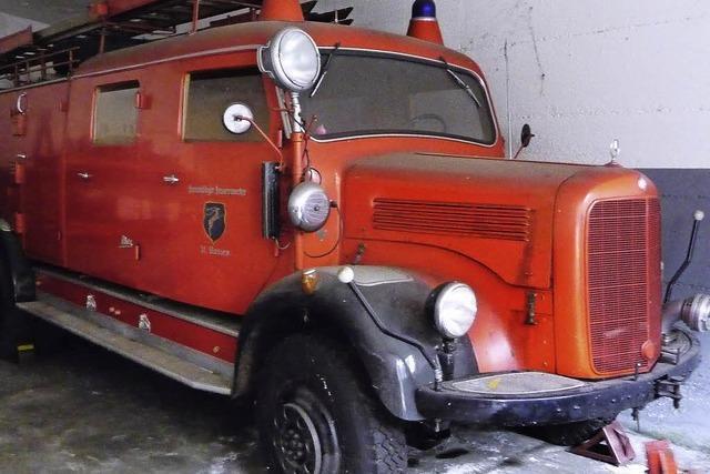 Die Feuerwehr ist Feuer und Flamme