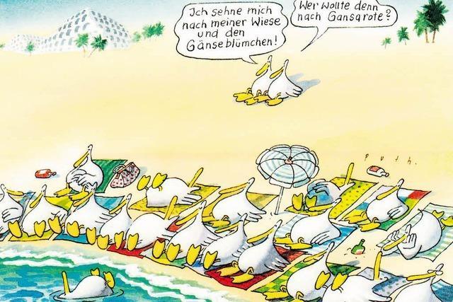 """Cartoonist Klaus Puth: """"Bewusst falsch verstehen"""""""