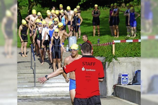 Weg frei für die Schwimmer