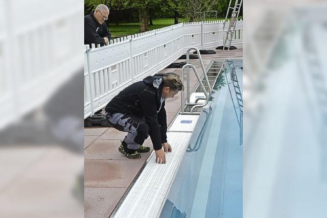 Ein Freibad für barrierefreie Badefreuden