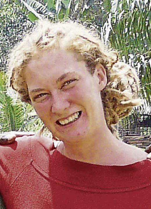 Die Biologin Vera Leinert  | Foto: Regenwald.org