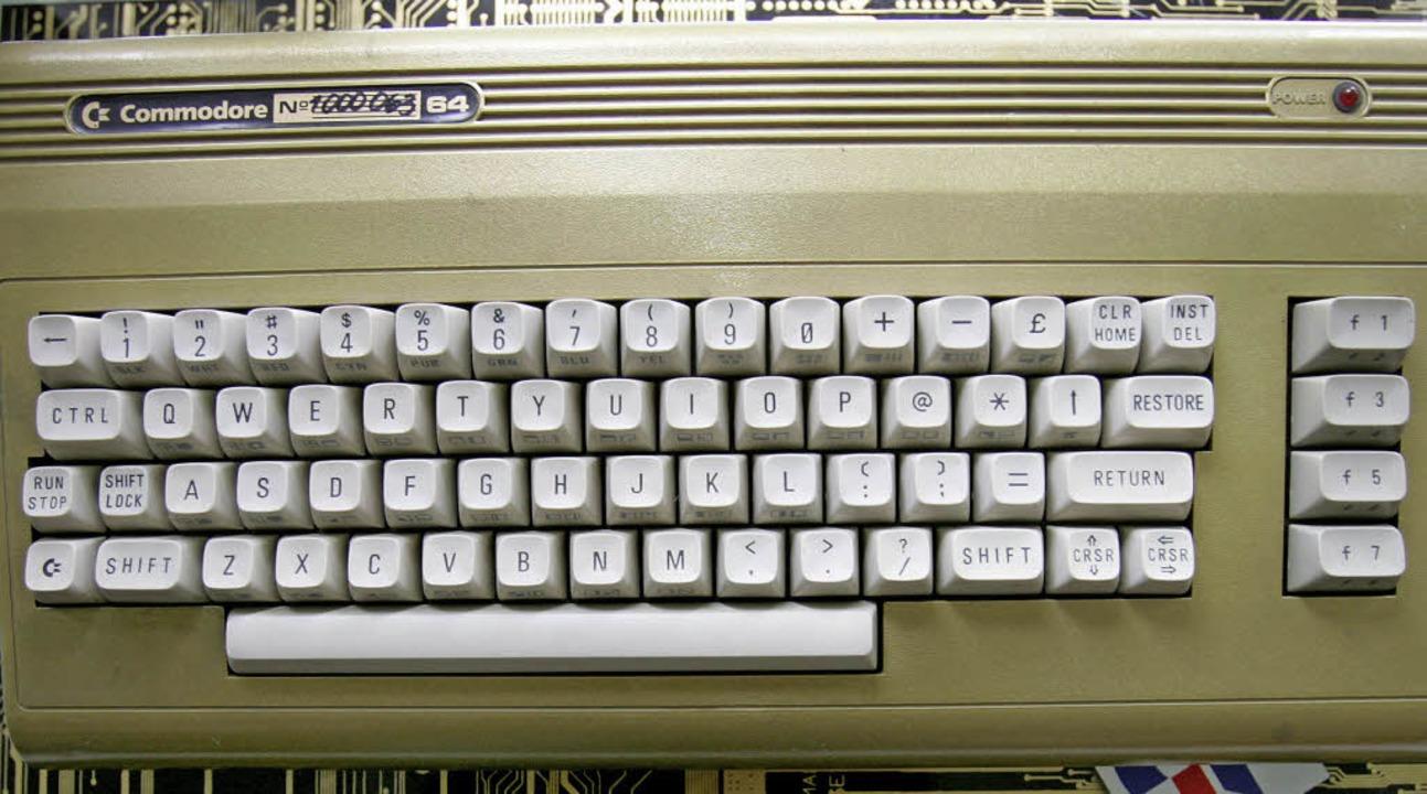 Boom für Basic: Der Commodore C 64  | Foto: dpa