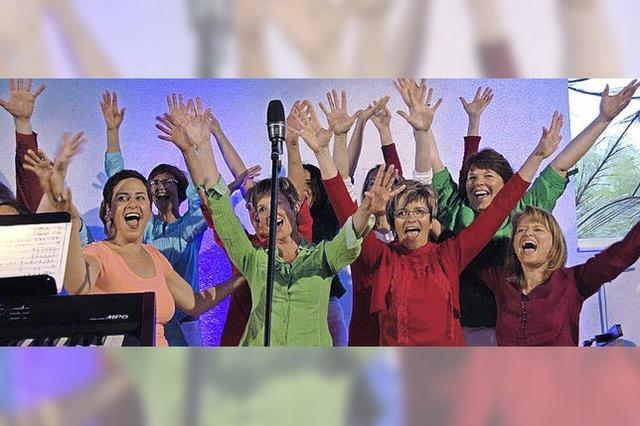 Vindonissa Singers begeisterten mit