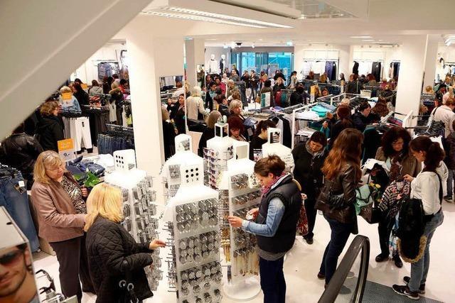 C & A eröffnet Filiale im ehemaligen Kaufhaus Krauss