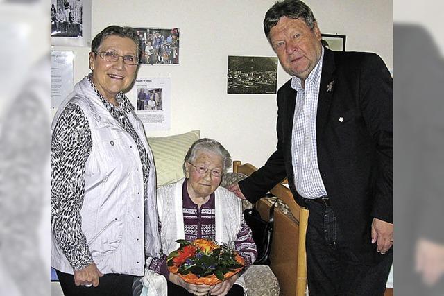 Maria Eberlin 103 Jahre alt