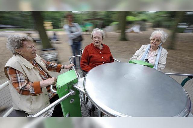 Spielplatz auch für Ältere?