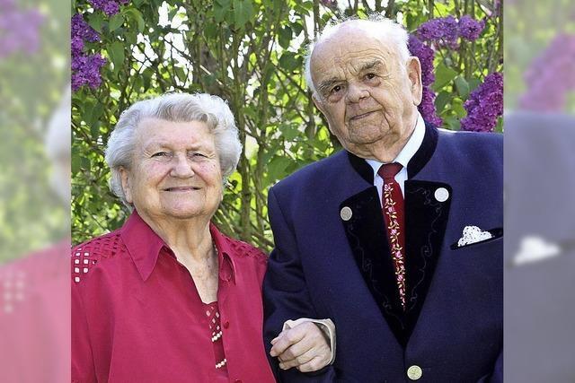 70 Jahre Ehe - Paar aus Rust feiert Gnadenhochzeit