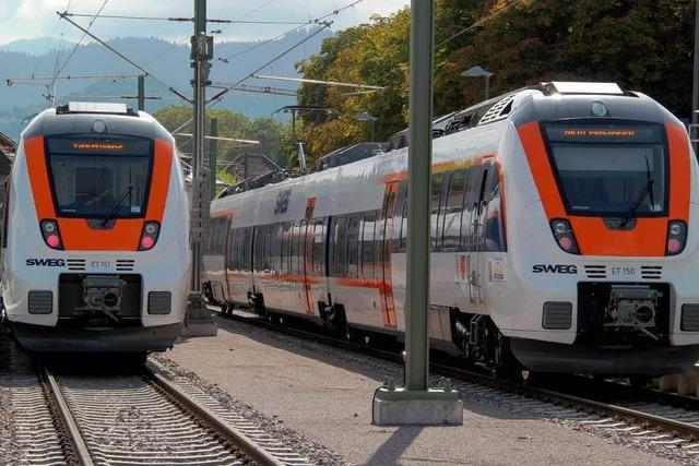 Münstertalbahn: Passen Züge und Gleis nicht zusammen?