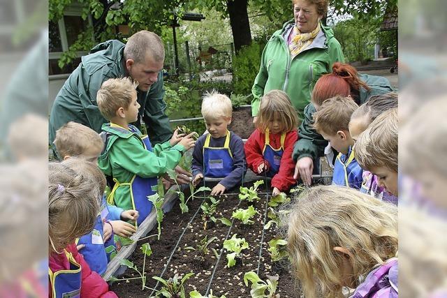 Kinder als Hobbygärtner