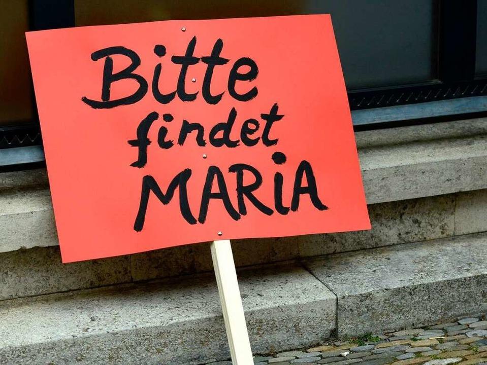 Mit Plakaten und Luftballonen wollten ... den Vermisstenfall aufmerksam machen.  | Foto: Ingo Schneider