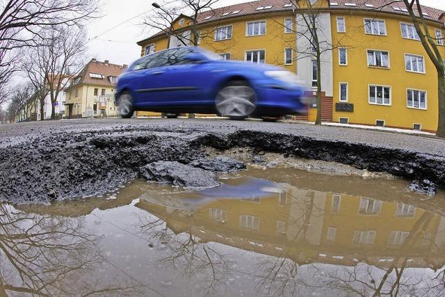 Mehr Mittel für den Straßenbau