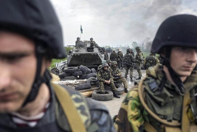 Zahlreiche Tote bei Kämpfen in der Ostukraine